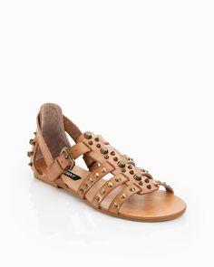 Gladiator studded sandal