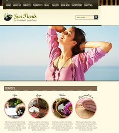 This WordPress theme for spas offers a restaurant version, a responsive layout, Google Web Fonts support, SEO-friendly code, the WooCommerce plugin, a booking page with validation, an image slider, a multi-column gallery or portfolio, and more.