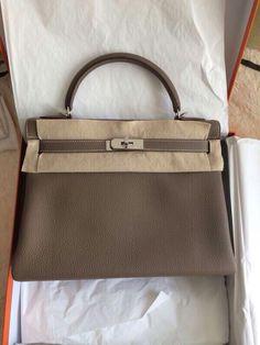 32202c94b396 k32 etoupe togo phw R NEW. Gabriella Debbie · Hermes Handbags