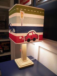 Transportation Lamp from Target -  Big Boy Room   (Mrs. B's Hive)  www.mrsbshive.com