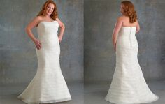 Brides are a lot like plus size wedding dress designers - they come in different sizes, shapes and styles. Every girl has the right to pursue the perfect wedding dress , but it can be difficult to find a dress that fits their shape and style for plus-size brides.