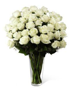 Beautiful white roses