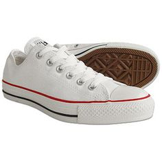 Love my all white shoes.