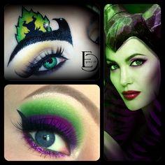 Disney Maleficent Makeup :D A collab with Emanuele Castelli!