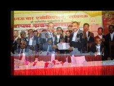 Advocate C L Dixit President of Lucknow Bar Association