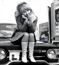 Adorable Lulu 1965: I bought my first car, a Renault automatic, even though I'd failed my test. This really brought home to me how far I had come, as my parents had never owned a car. When I finally passed my test, I adored buzzing around town.