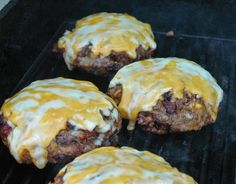 Minnesota Vikings Stuffed Hamburgers
