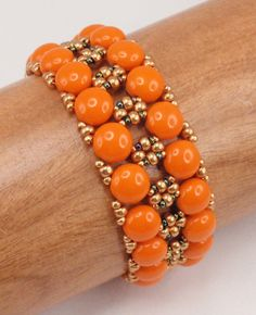 Instructions for Global Rails Bracelet Beading by njdesigns1