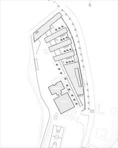 """Kindergarten """"Les Séveriers"""",Floor Plan"""
