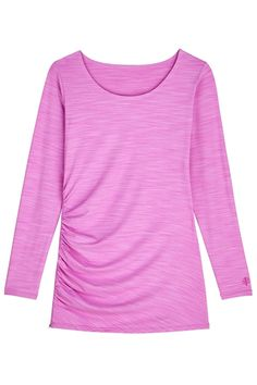 Side-Zip Swim Shirt Womens: Sun Protective Clothing - Coolibar