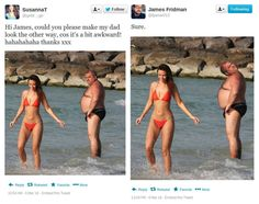 SCG VIRALS: James Fridman, the Photoshop Guru with the Humorous Touch (15 Photos)
