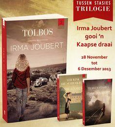 Tolbos deur Irma Joubert: Foto's van Kaapse bekendstellings - Izak de Vries | LitNet Afrikaans, Books To Read, Films, Van, Reading, Movies, Reading Books, Film Books, Movie