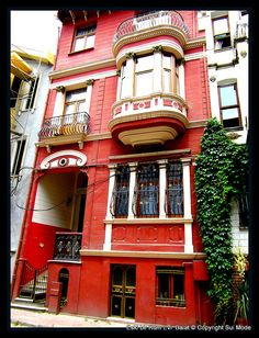 Balat, Sokaklar, Istanbul, Turkey - the traditional Jewish quarter in the Fatih district of Istanbul.