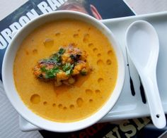 Ramsay's saffron soup | The New Chowstalker!
