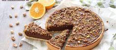 Ricetta crostata con cioccolato, arance e pistacchi