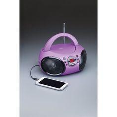 cd Boombox W& Purple audiosonic Birthday Gifts For Kids, Birthday Presents, 5th Birthday, Boombox, Purple, Shopping, Gift Ideas, Christmas, Xmas