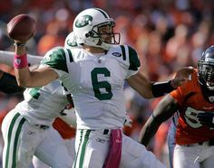 #Mark Sanchez, NY Jets star quarterback and #Breitling brand ambassador, in action on the field