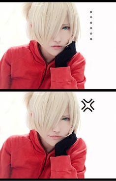 I love this cosplay of Yurio || Yuri on Ice ♚