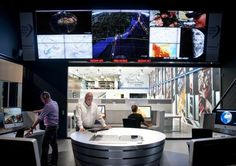 Volvo Ocean Race communications centre designed by Mather Co