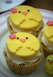 Osterkükenmuffins ♥ Chirpy Chick Easter Cupcakes