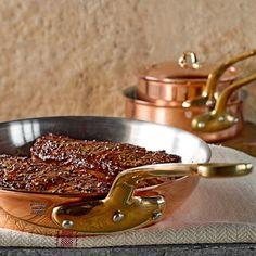 Mauviel  Copper Fry Pans #williamssonoma