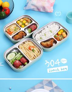 Cheap Lunch Boxes, Cute Lunch Boxes, Lunch Box Set, Bento Box Lunch, Lunch Snacks, Japanese Lunch Box, Japanese Food, Lunch Box With Compartments, Stainless Steel Containers