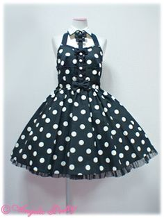 angelic pretty Dot Midnight Dollジャンパースカート