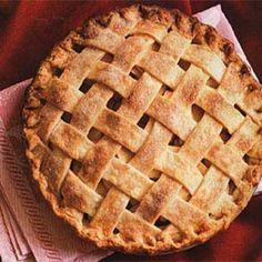 Old-Fashioned Lattice-Top Apple Pie