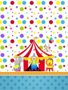 Montando a minha festa: Circo meninos