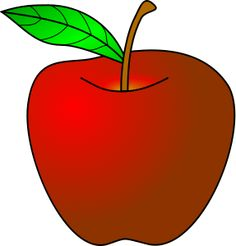 Clip Art Apple Ios Clipart - Clipart Suggest Apple Illustration, Photo Illustration, Free Clipart Images, Vector Free, Apple Clip Art, Apple Photo, Food Clipart, Spelling Patterns, Red Fruit