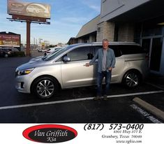 Van Griffith Kia Customer Review  They did an outstanding job on a deal that was complicated. They were courteous and patient with the transaction. Eden and Dawn worked very hard to make us happy and they did. Overall it has been an outstanding experience and we will share that feeling with our friends and neighbors.  Barry Bates      #ComeSeeEden  #LetThisVeteranHelpYou    Barry , https://deliverymaxx.com/DealerReviews.aspx?DealerCode=PXVJ&ReviewId=66771  #Review #DeliveryMAXX…
