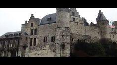 Europe town walk Vol 6 Antwerpen 15 Het Steen(Antwerp's castle) HD Version