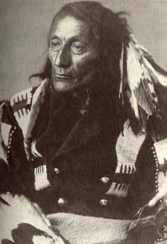 Crow Foot II (aka Big Crow Foot II, aka Crow Indian's Big Foot II, aka Shot Close, aka Bear Ghost, aka Packs The Knife II) - Blackfoot (Siksika) - circa 1886