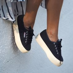 182bbc35f5ce Our Classic Superga 2750 gets remastered! The 2790 flatform is a cross  between our classic tennis shoe shape
