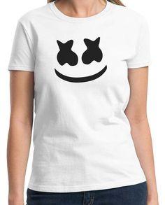 Who is Marshmellow Man EDM Dance music trance party music dj tee t-shirt - Animetee - 3