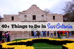 There are lots of Things to Do in San Antonio, Texas for the entire family. Take a look at our big list of fun - outdoor, history, food, culture & more