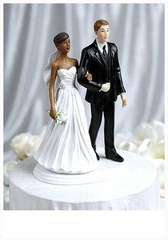 awesome The Interracial Wedding Cake Toppers for Ethnic Event Concept