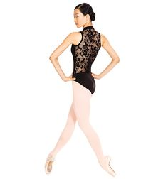 Zhao Wan Ting with the #SanFranciscoBallet giving you major drama in this Lace Back Tank Leotard - Style Number: N8699