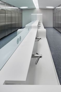2014 BOY Winner: Kitchen/Bath | Project: Royal Ontario Museum. Firm: Superkül. Location: Toronto, Canada. #design #interiordesign #interiordesignmagazine #architecture #bathroom #sink