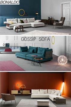 Gossip Sofa By Bonaldo