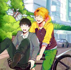 Hide and Kaneki. Ugh... This makes me emo