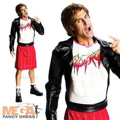 Wwe rowdy roddy #piper mens fancy dress wrestler #sports uniform adult #costume,  View more on the LINK: 	http://www.zeppy.io/product/gb/2/361217534558/