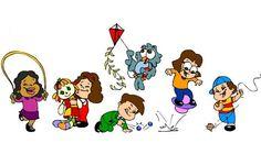 Brincadeiras em Grupo   Atividades para Educação Infantil
