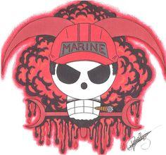 Akainu Marine-Emblem. by LoLoOw