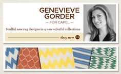 Genevieve Gorder for Capel Rugs Genevieve Gorder, Rug Company, Braided Rugs, Persian Rug, Outdoor Rugs, Oriental Rug, Carpets, Home Furnishings, Sweet Home