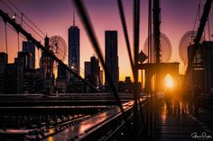 Brooklyn Bridge by Gina Brake @nyc_ph0t0 by newyorkcityfeelings.com - The Best Photos and Videos of New York City including the Statue of Liberty Brooklyn Bridge Central Park Empire State Building Chrysler Building and other popular New York places and attractions.