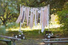 Wedding Arch Ideas | Intimate Weddings - Small Wedding Blog - DIY Wedding Ideas for Small and Intimate Weddings - Real Small Weddings