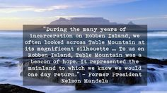 Game for hope to help those who need it most with  at 16 March Beacon Of Hope, 16 March, Table Mountain, Nelson Mandela, Former President, Cape Town, Island, Game, Block Island