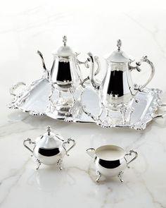 H7ZX4 GODINGER SILVER ART CO 5-Piece Coffee & Tea Service