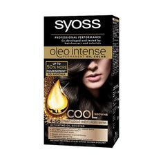 Syoss Oleo Intense Permanent 4-50 Icy Brown Hair Oil Color